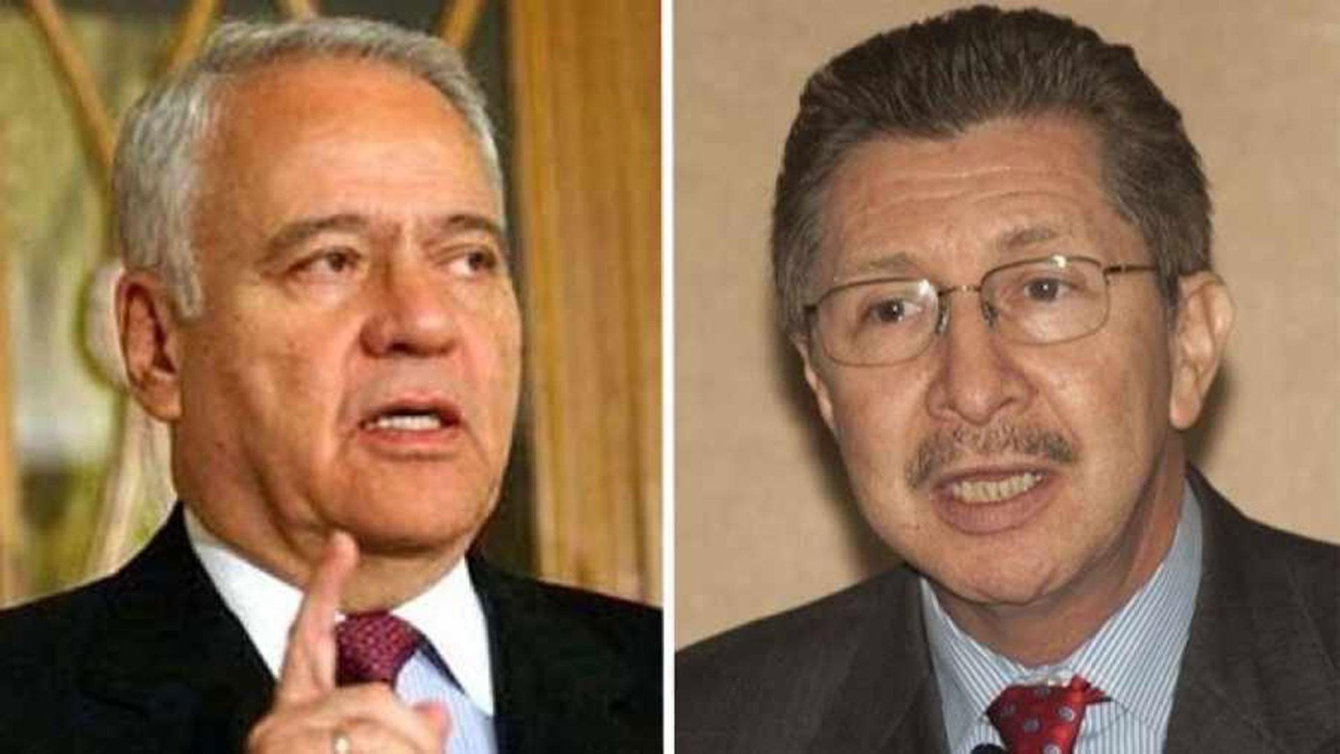 Gonzalo Sánchez de Lozada y Carlos Sánchez Berzaín
