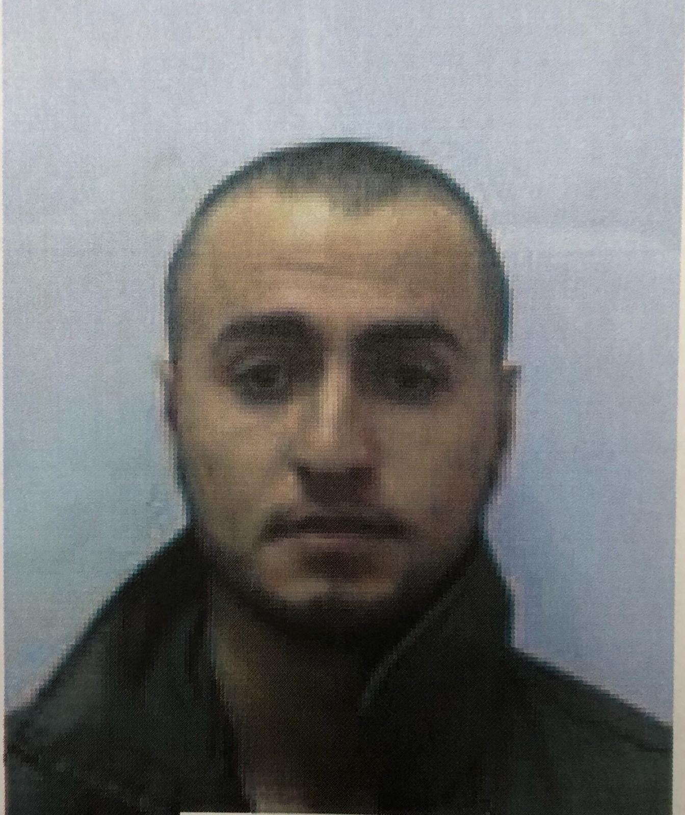 Amin Yuma, miembro de Yihad Islámica acusado de planear el ataque y arrestado en la barca pesquera (Shin Bet)