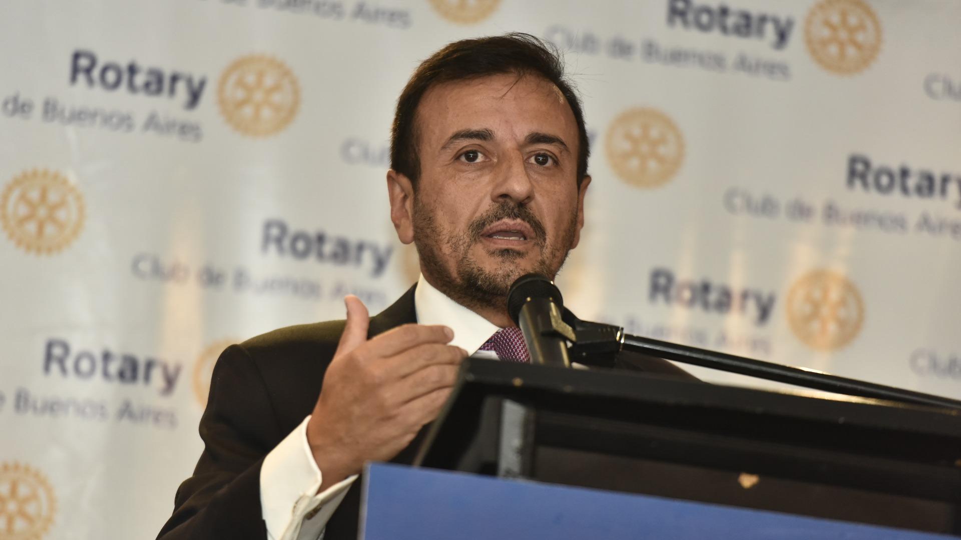El vicejefe de gabinete, Mario Quintana (Adrian Escandar)
