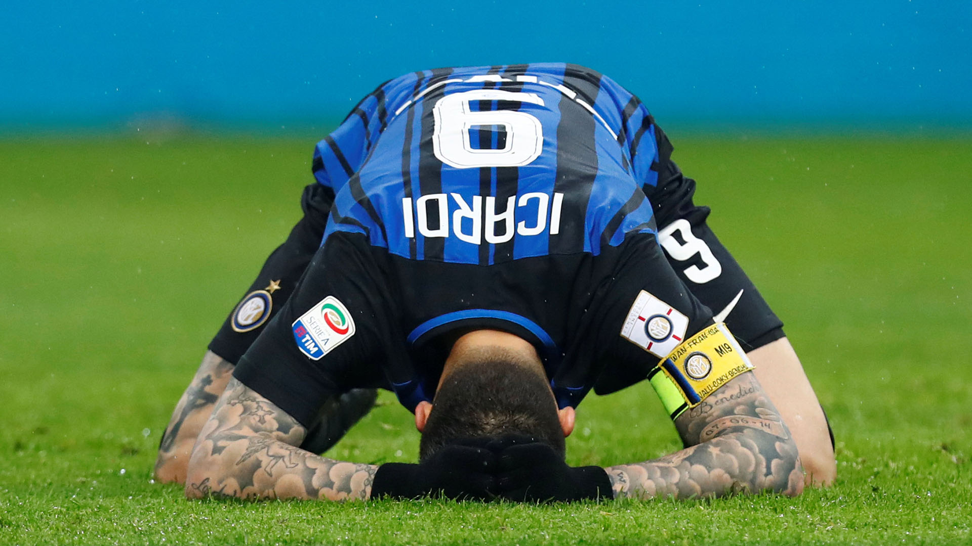 Mauro Icardo, del Inter de Milán (REUTERS)