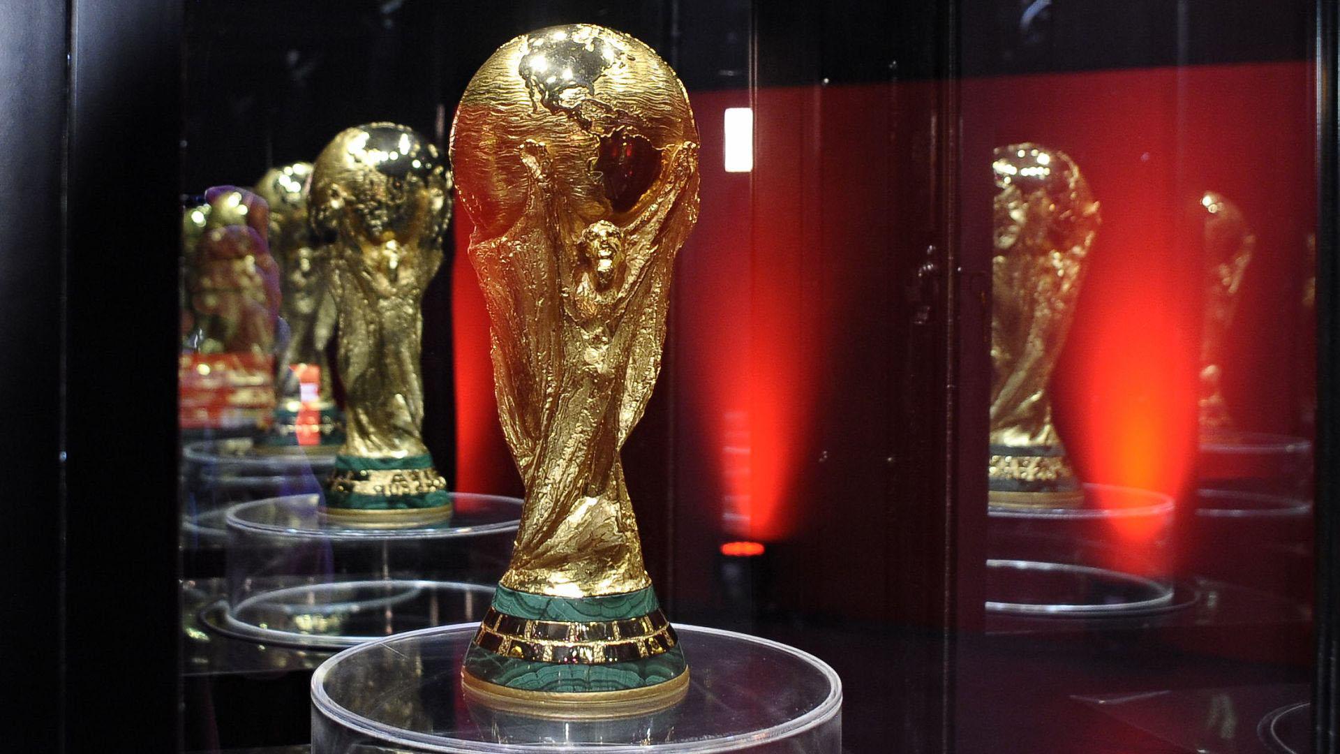El trofeo más preciado del mundo del fútbol, en primer plano (Patricio Murphy)