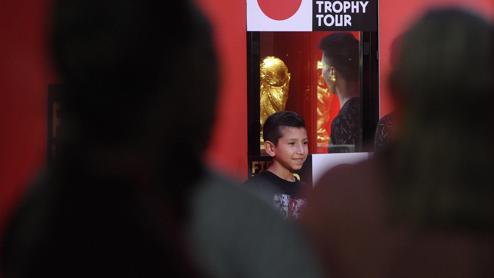La Copa visitará 91 ciudades en un total de 53 países (Patricio Murphy)