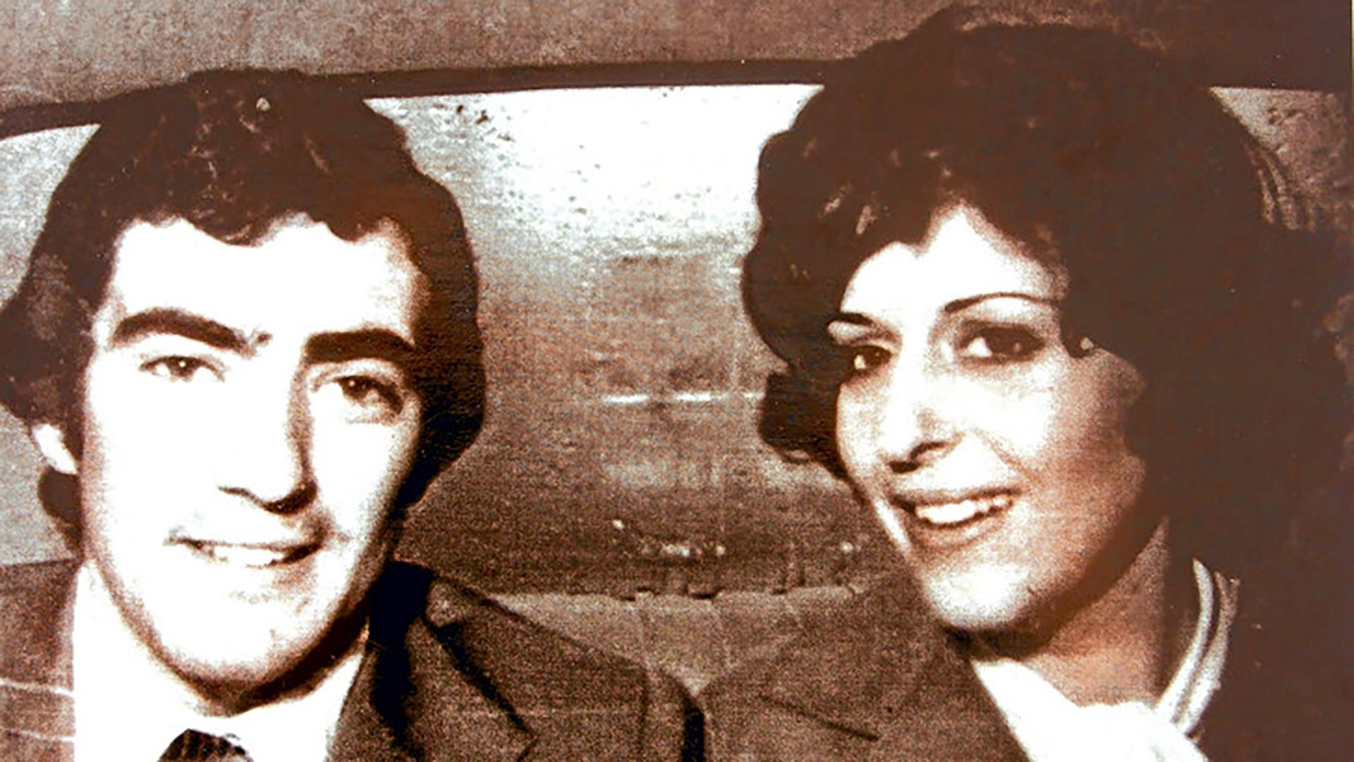 Cecilia Viñas y Hugo Penino