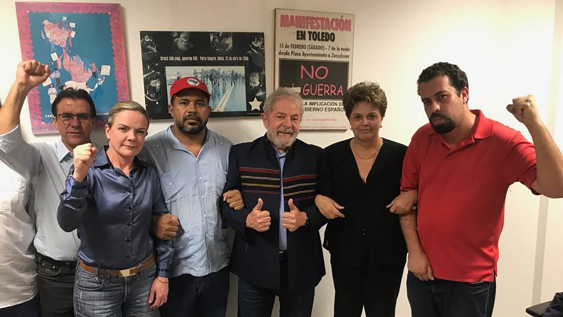Lula da Silva dice que no se entregará en Curitiba