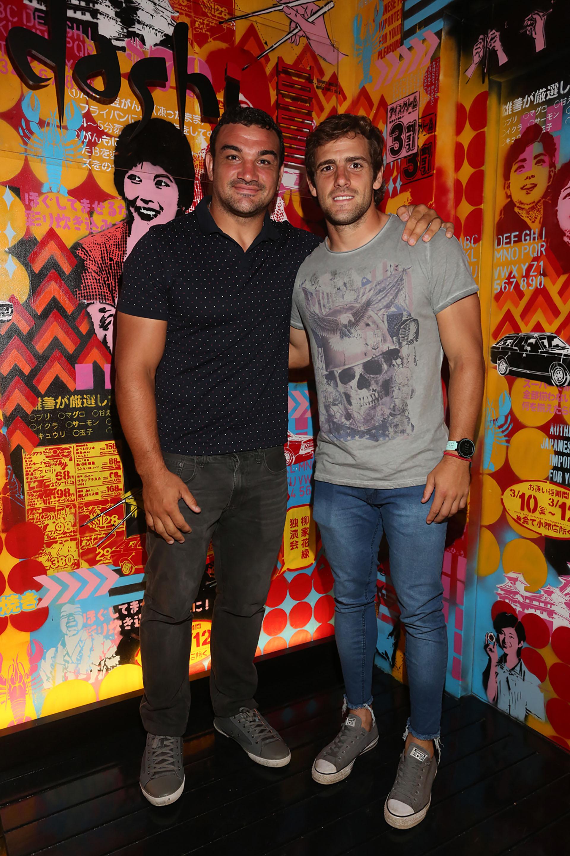 Los Pumas, Agustín Creevy y Nicolás Sánchez