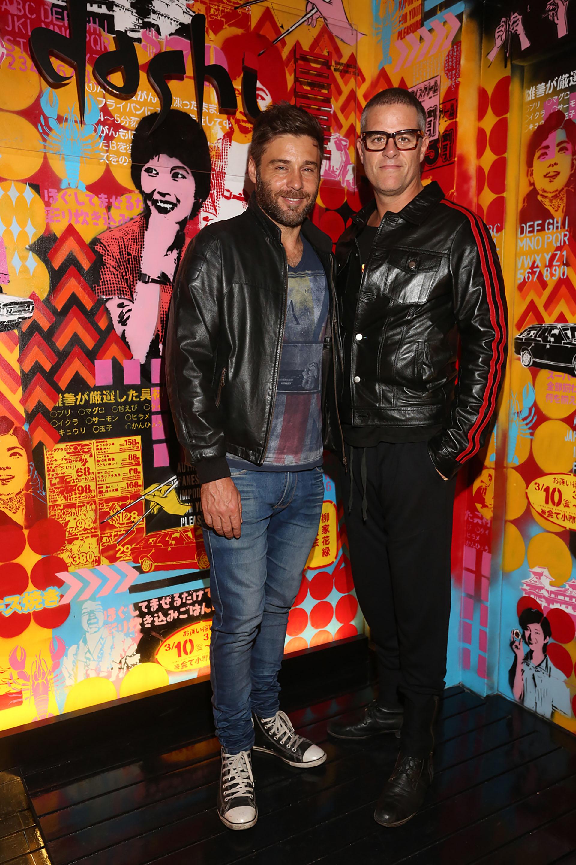 Gastón Ricaud y Mike Amigorena
