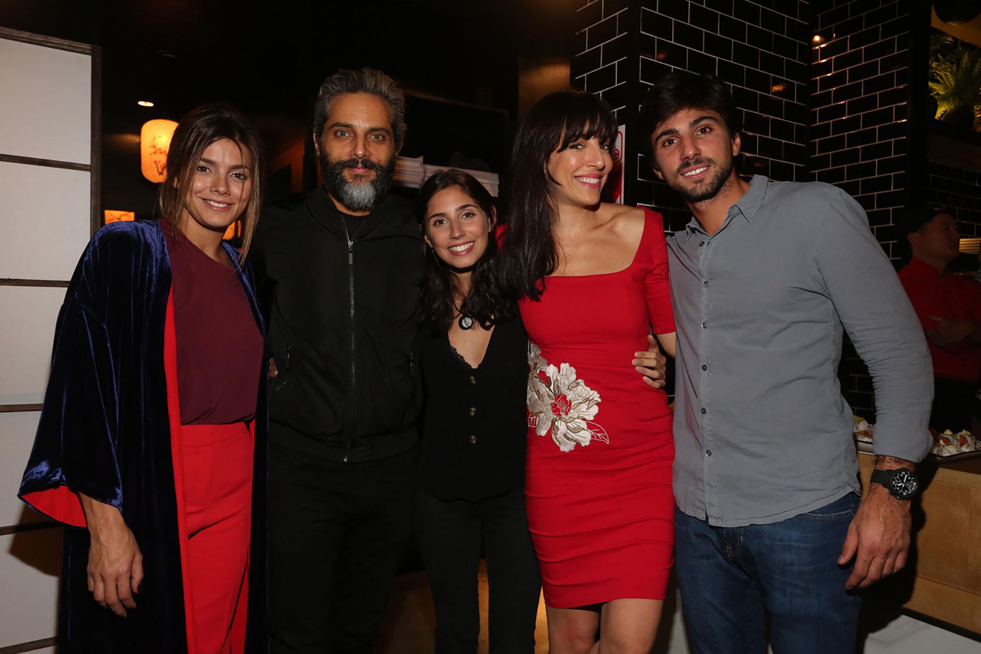 Natalie Perez, Joaquin Furriel, Zoe Hochbaum, Paula Kohan y Sebastián Hochbaum