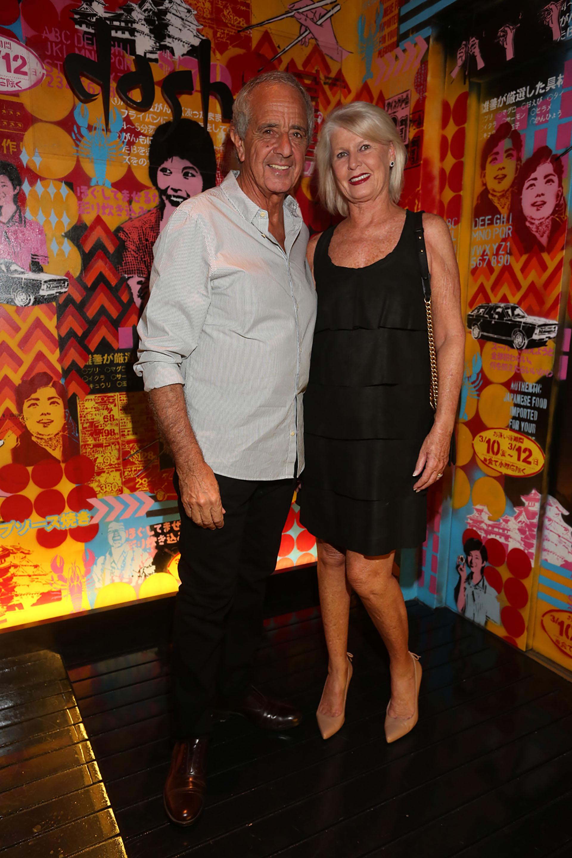 Rodolfo D'Onofrio, presidente de River Plate, y su mujer Patricia