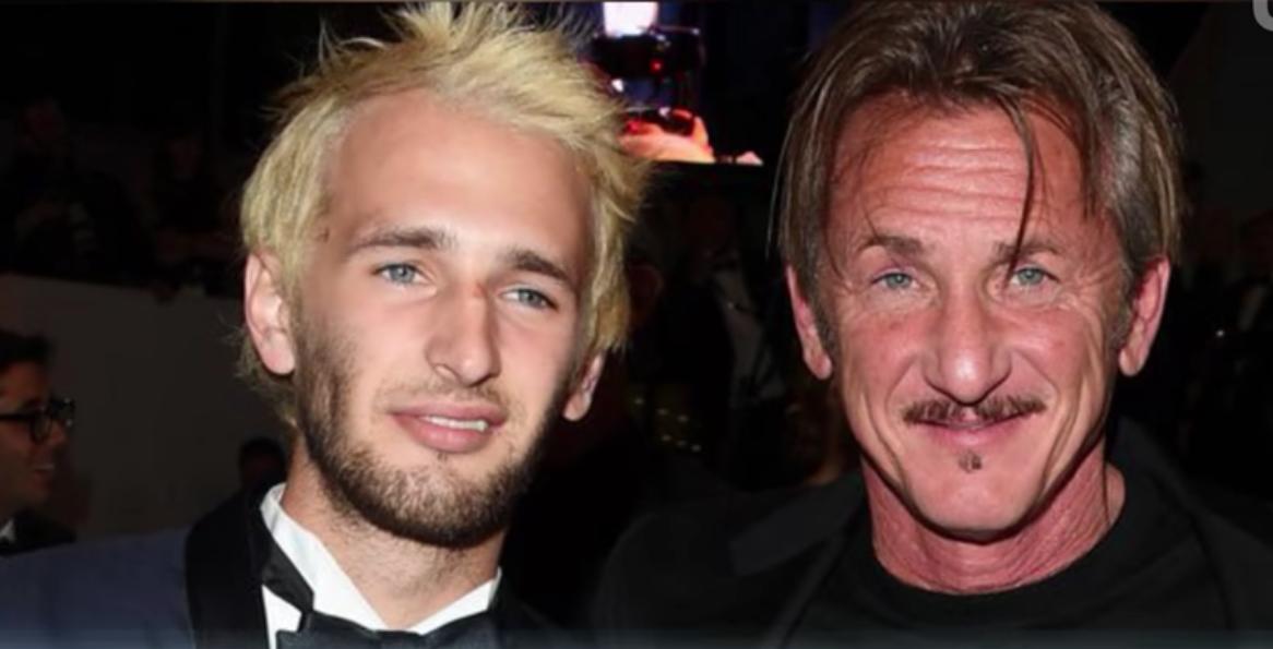Sean Penn y su hijo Hopper