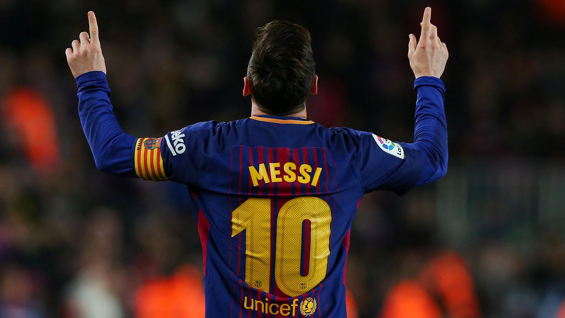 Messi no se imagina el futuro estando lejos de Barcelona (Reuters)