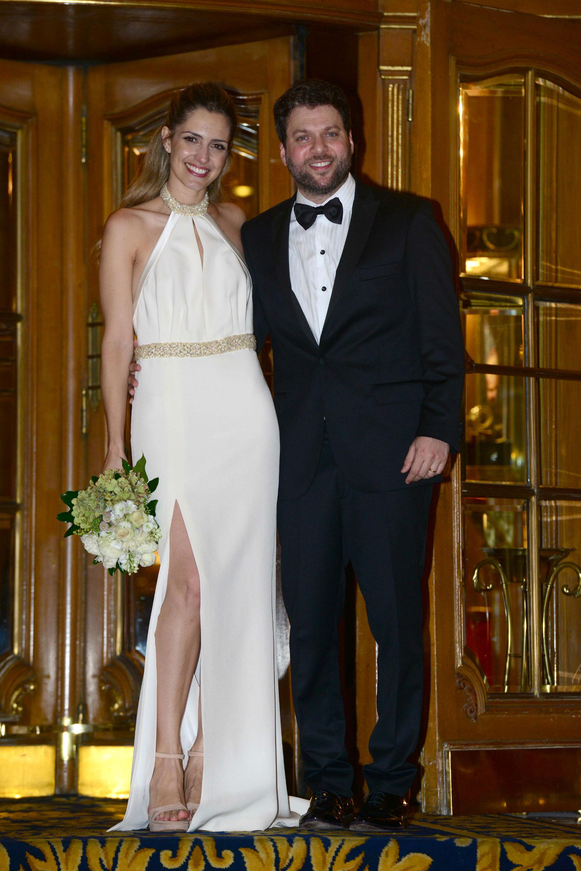 Guido Kaczka (40) y Soledad Rodríguez se casaron este sábado por civil en una ceremonia íntima. (Foto GENTE/Diego Soldini)