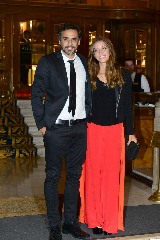 Mariano Zabaleta y su mujer. (Foto GENTE/Diego Soldini)