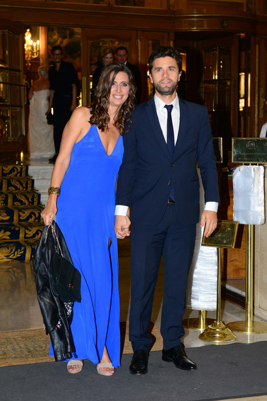 Luciana Geuna y su marido. (Foto GENTE/Diego Soldini)