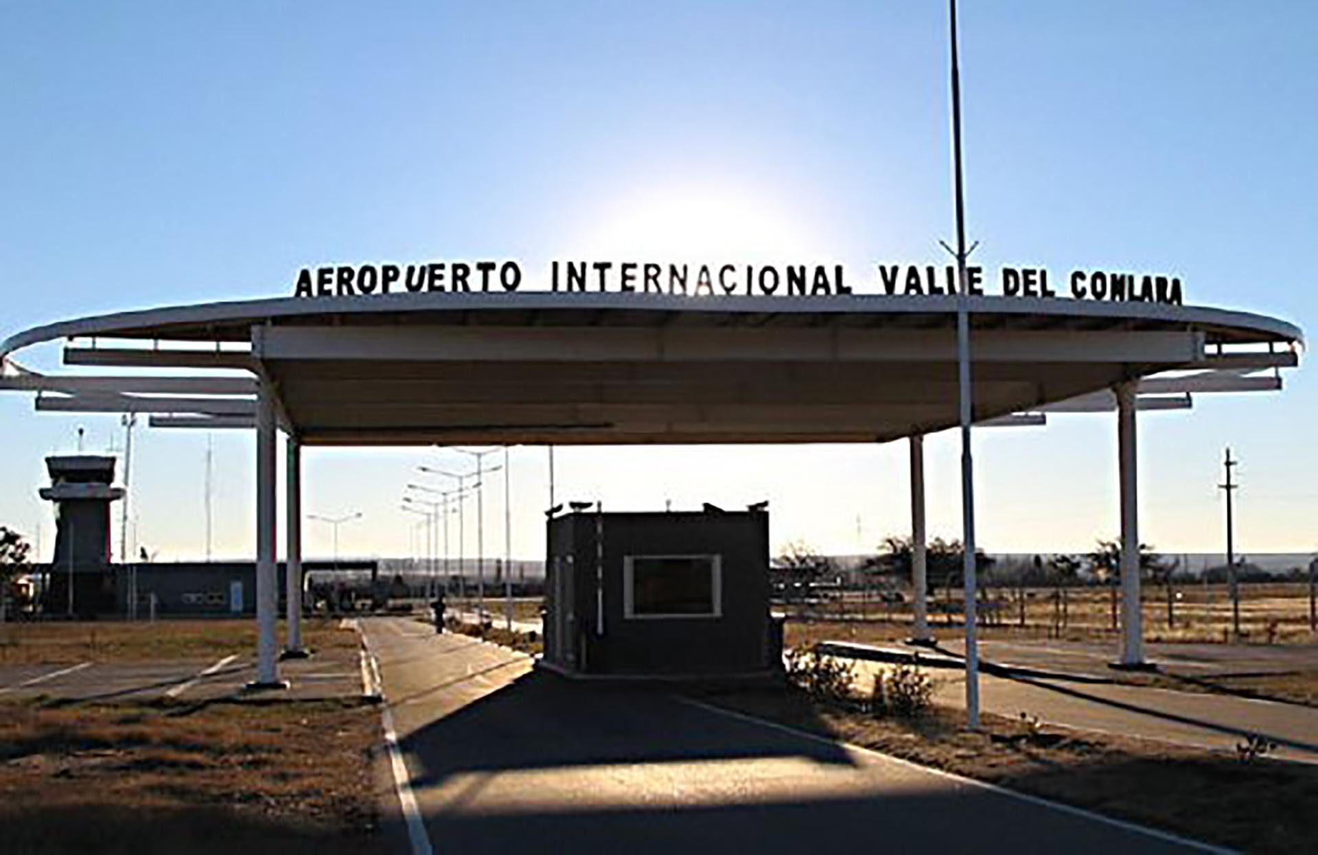 Aeropuerto valle de Conlara. Foto: El Diario de San Luis
