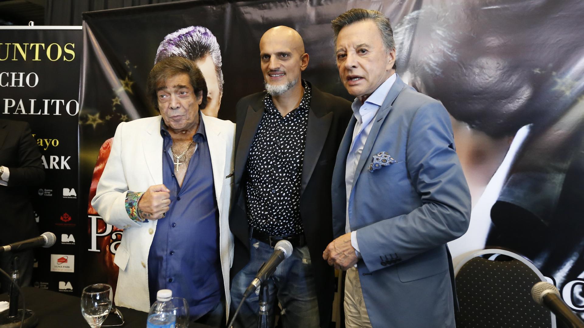 Cacho Castaña, Guillermo Marín y Palito Ortega