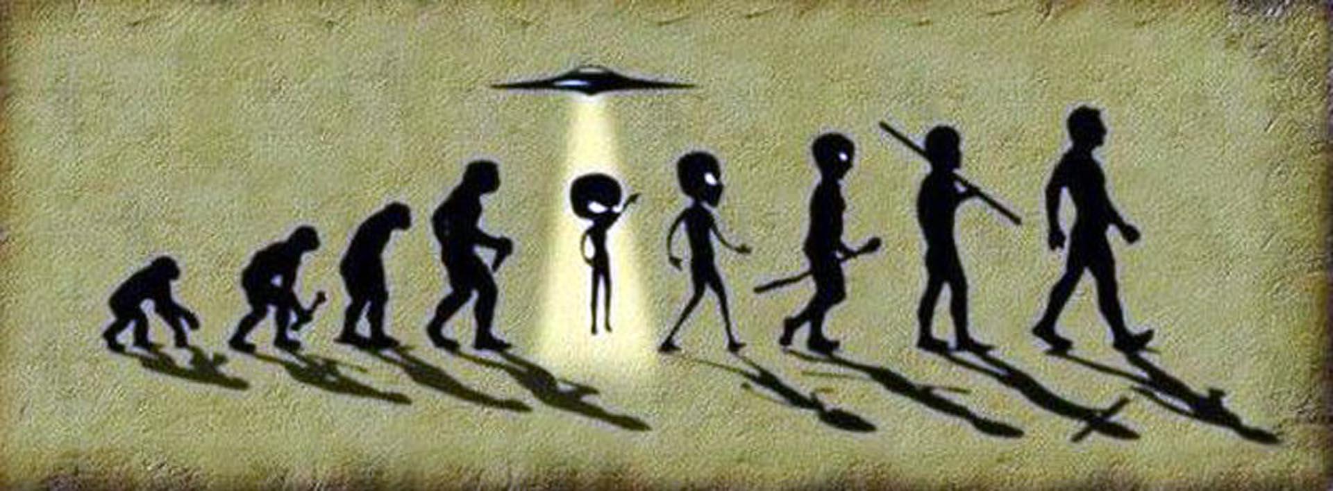 El creacionismo alienígena sostiene la intervención extraterrestre en el desarrollo genético de los humanos
