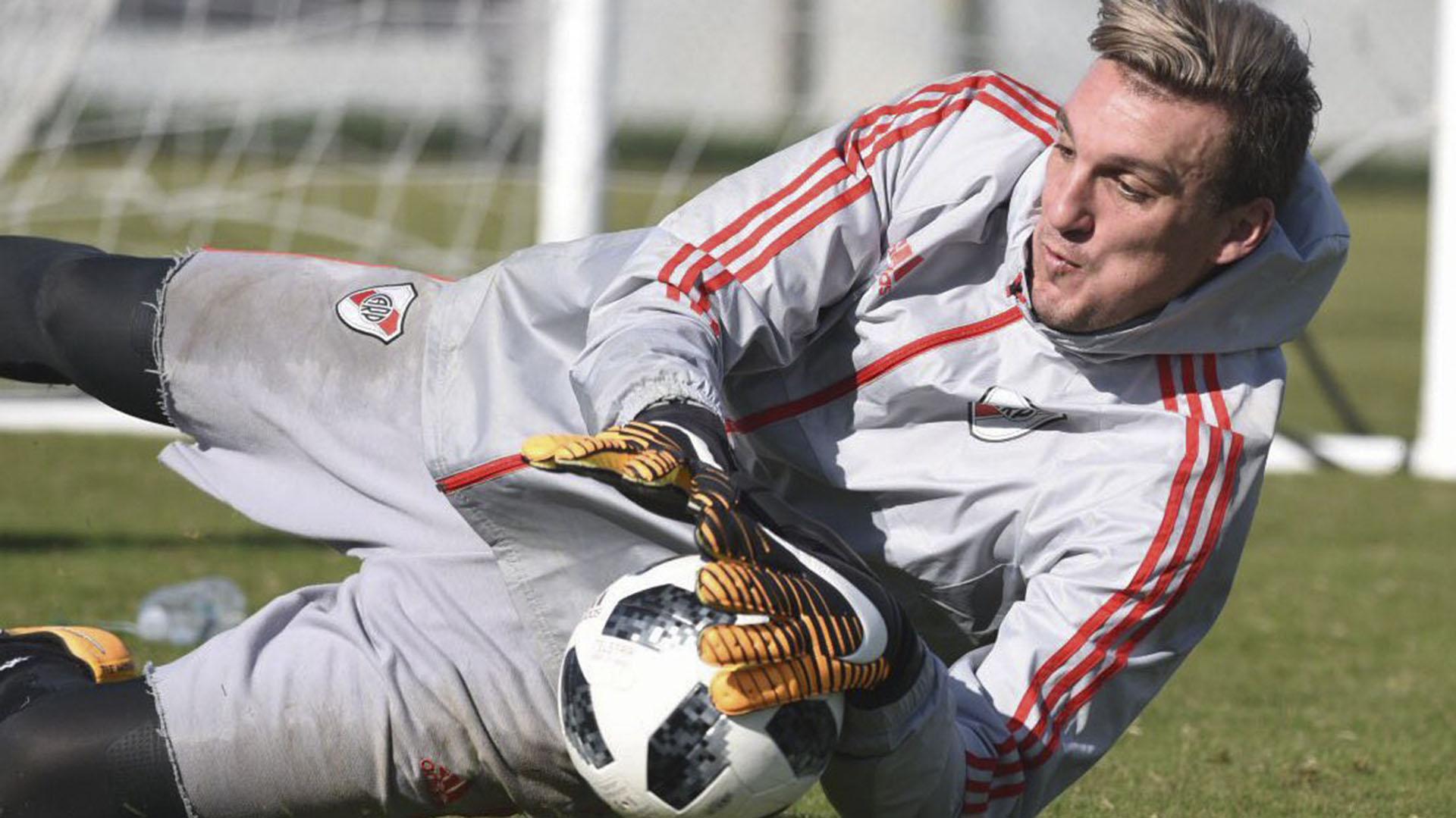 Franco Armani, arquero de River Plate (Foto: NA)