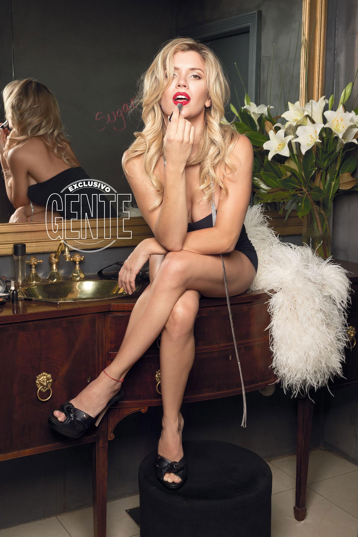 Marilyn, la referencia constante de Laurita para interpretar a Sugar Kane. (Fotos: Christian Beliera GENTE)