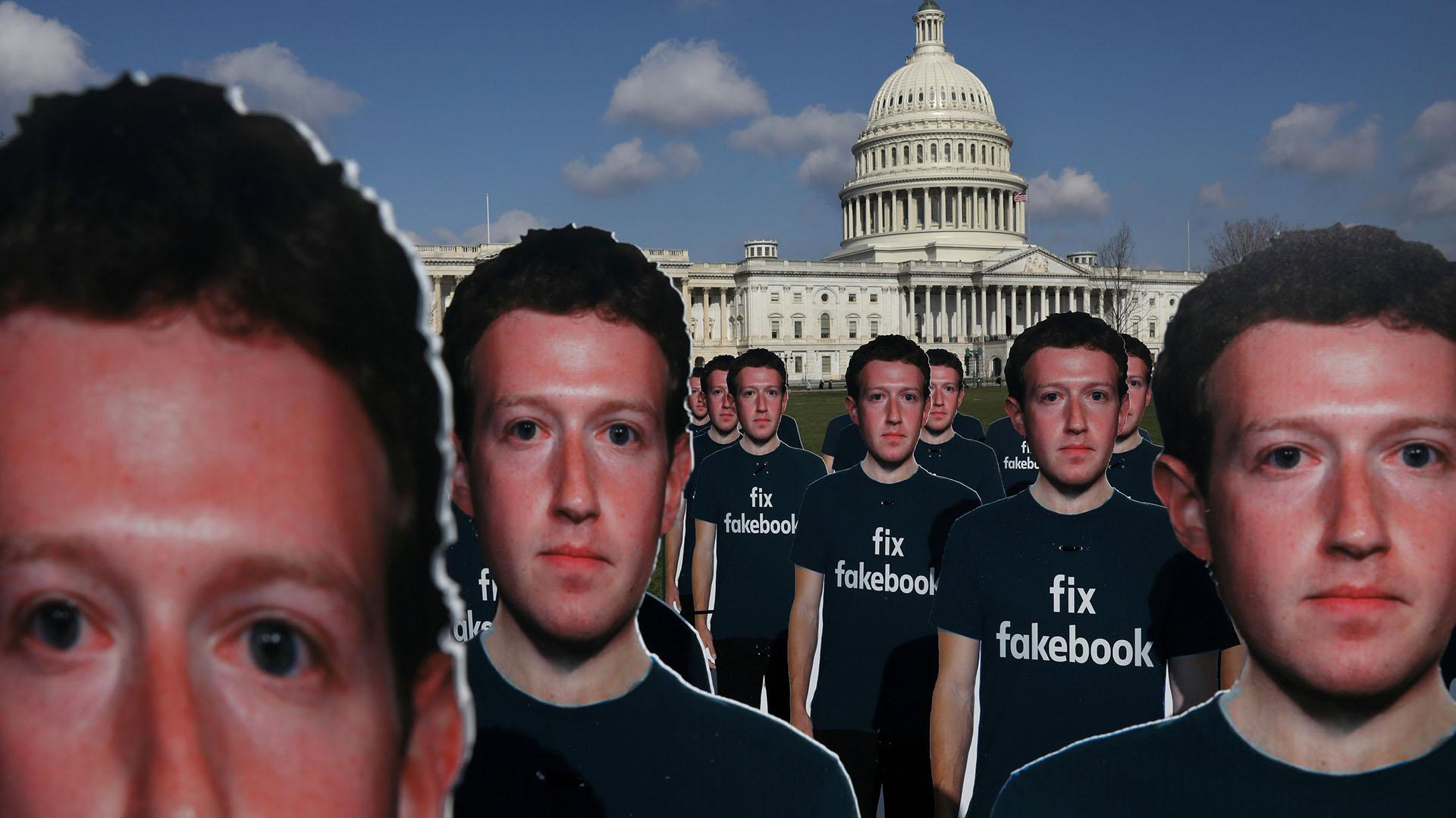 """""""Fix Fakebook"""", un juego de palabras que pide que Facebook solucione el problema de las """"fake news"""" (noticias falsas)"""
