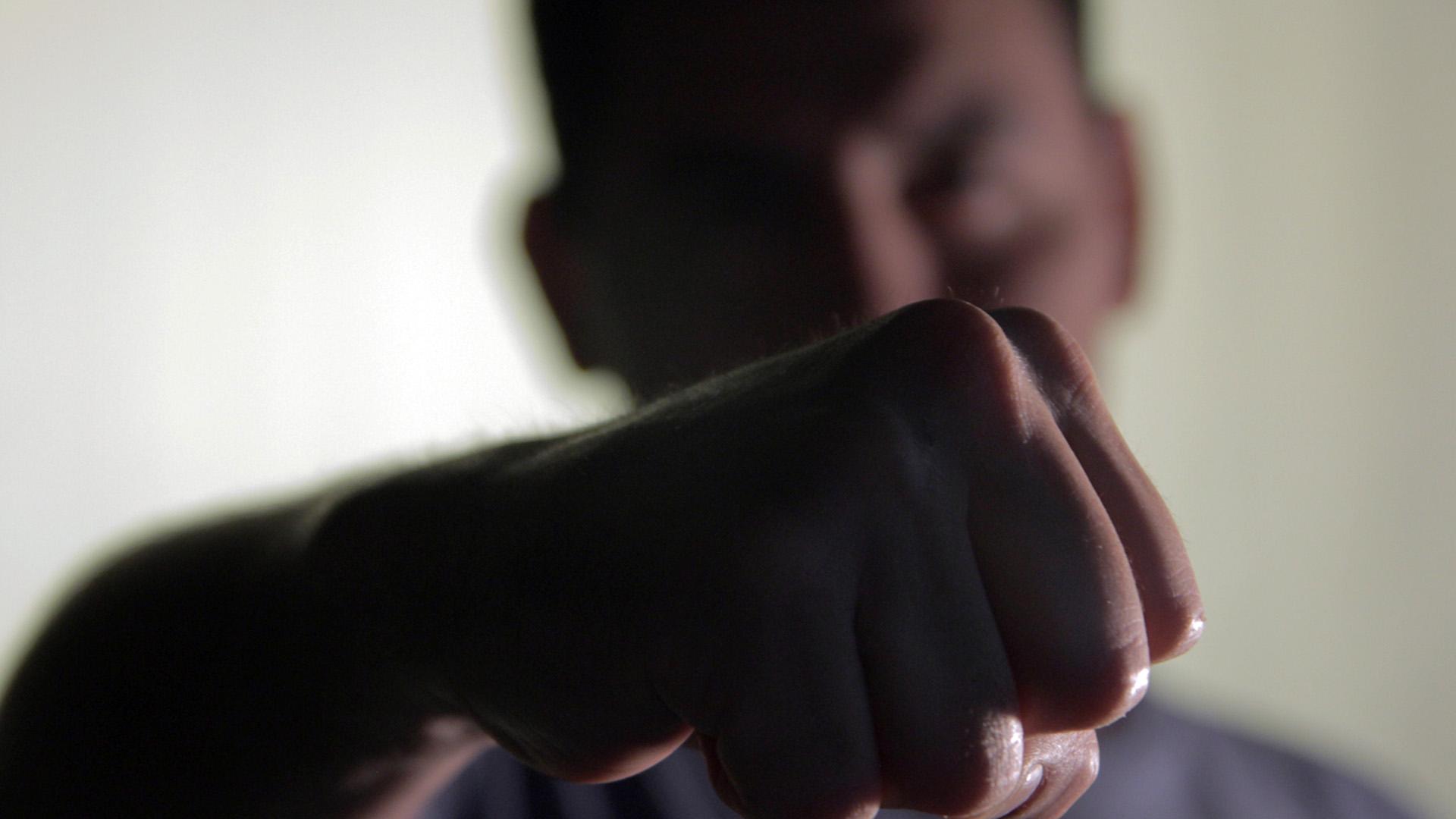 Juan, en Infobae. Asiste al grupo de Hombres Violentos del gobierno porteño (Santiago Saferstein)