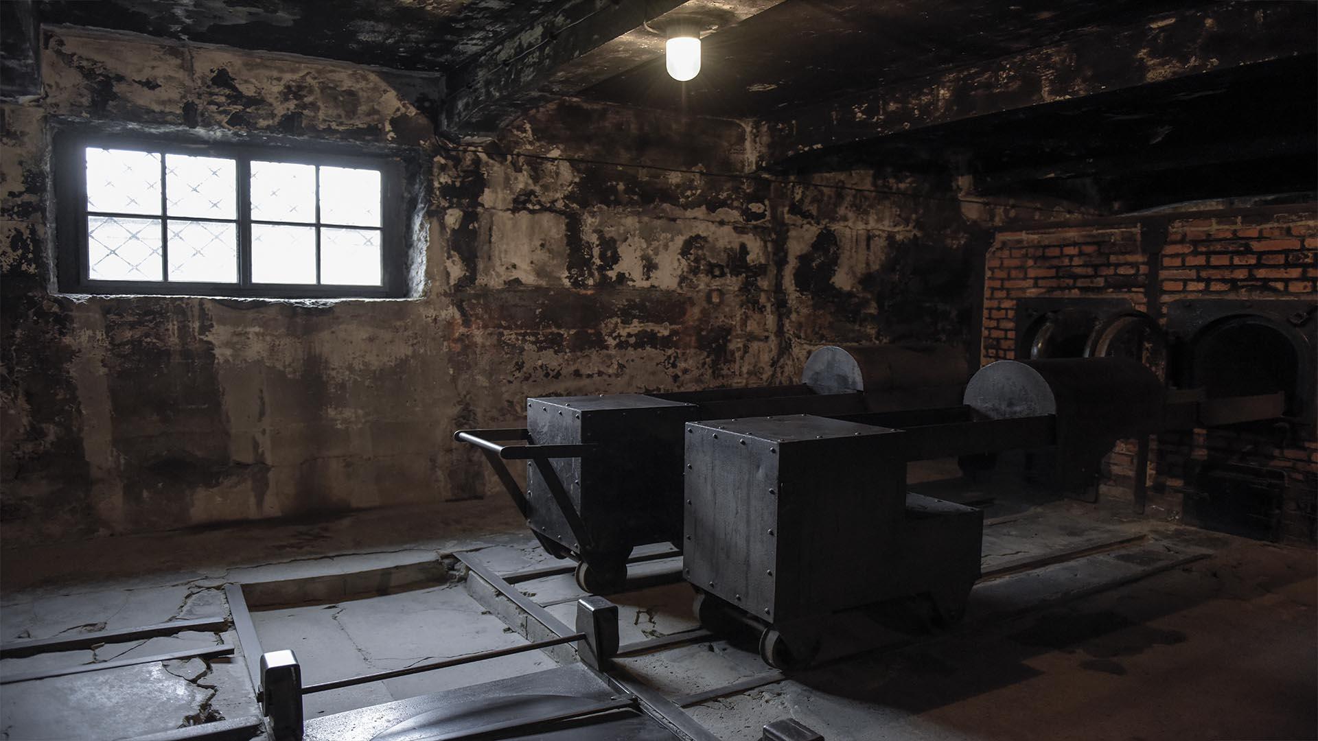 Cada lugar en Auschwitz permite dimensionar la escala de la tragedia