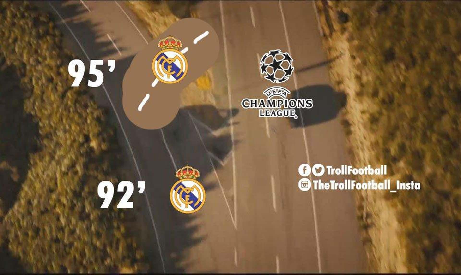 Los mejores memes que dejó la agónica clasificación del Real Madrid ante Juventus