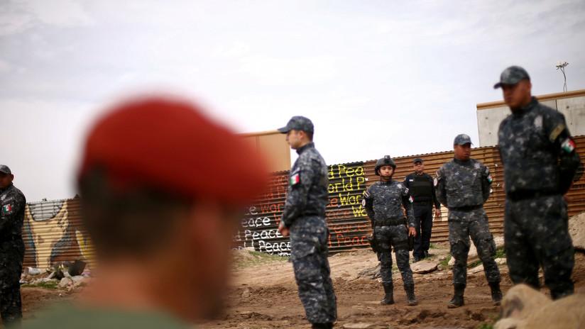 Elementos de la Gendarmería serán desplegados a lo largo de 664 kilómetros de la frontera sur de México. Foto: Especial.