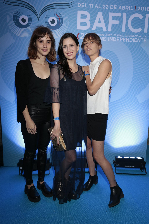 """Las actrices Camila Fabbri (""""Las Vegas"""") , Antonella Costa (""""Dry Martina"""") y Sofía Brito (""""La omisión"""")"""