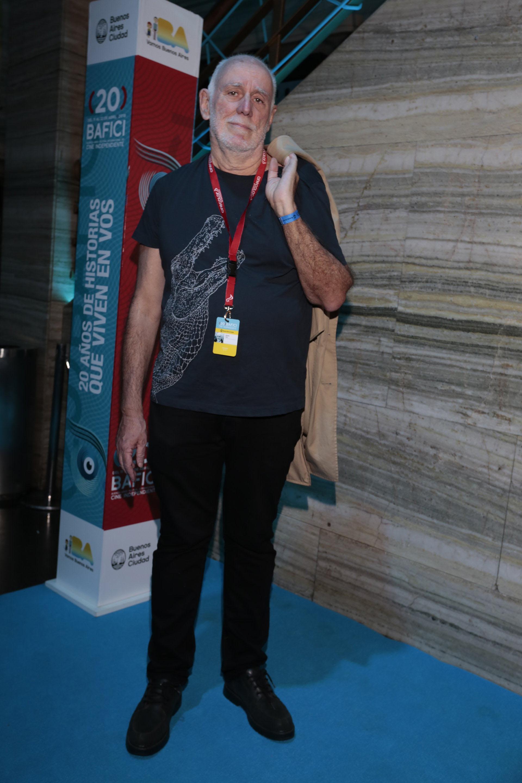 El crítico cultural Eduardo Antín