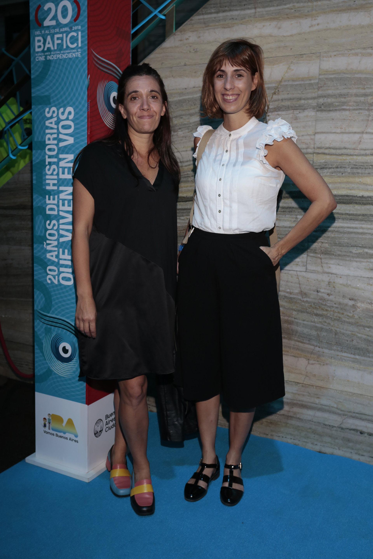 Viviana Cantoni, subsecretaria de Gestión Cultural de la Ciudad y Luciana Blasco, subsecretaria de Políticas Culturales y Nuevas Audiencias de la Ciudad