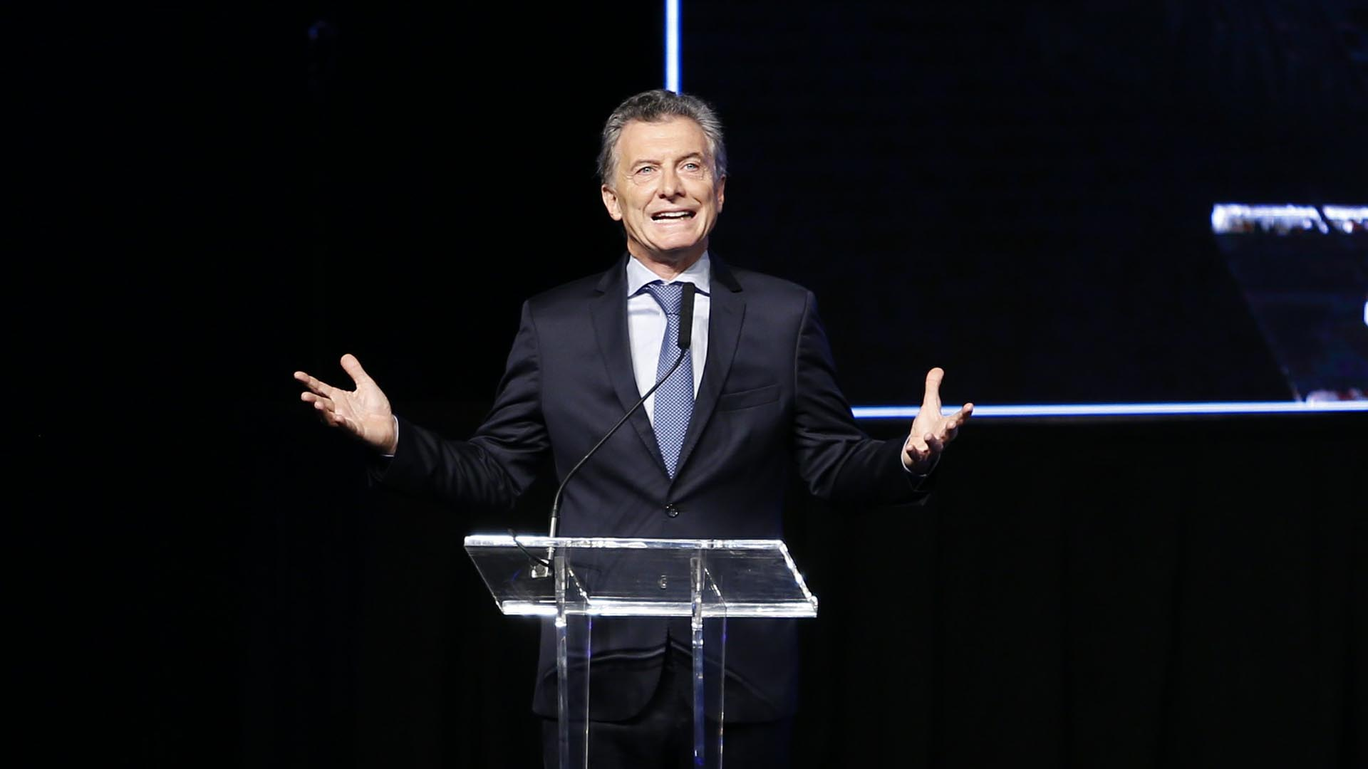 Mauricio Macri sigue, según los inversores que fueron a Washington (Nicolás Aboaf)