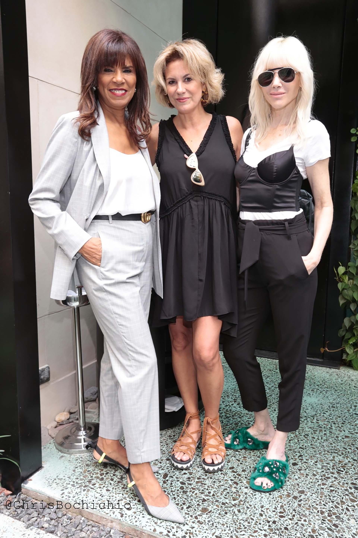 Anama Ferreira, Florencia Florio y Roxana Harris (Foto Christian Bochichio)