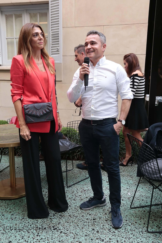 Angel Martinez junto a Vanina Capasso felices con la llegada de la marca a Argentina