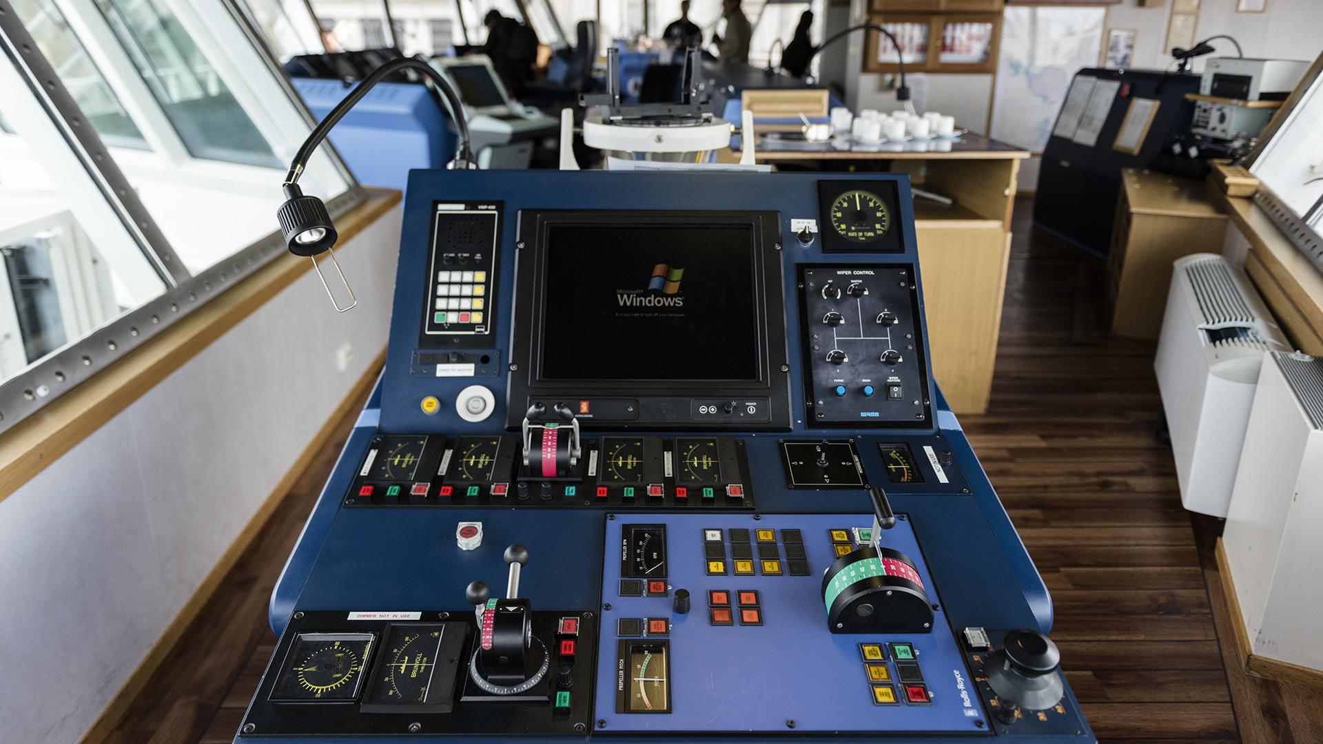 El HMS Protector fue construido en Noruega en el año 2001 y fue adquirido por la Royal Navy una década después, en 2011