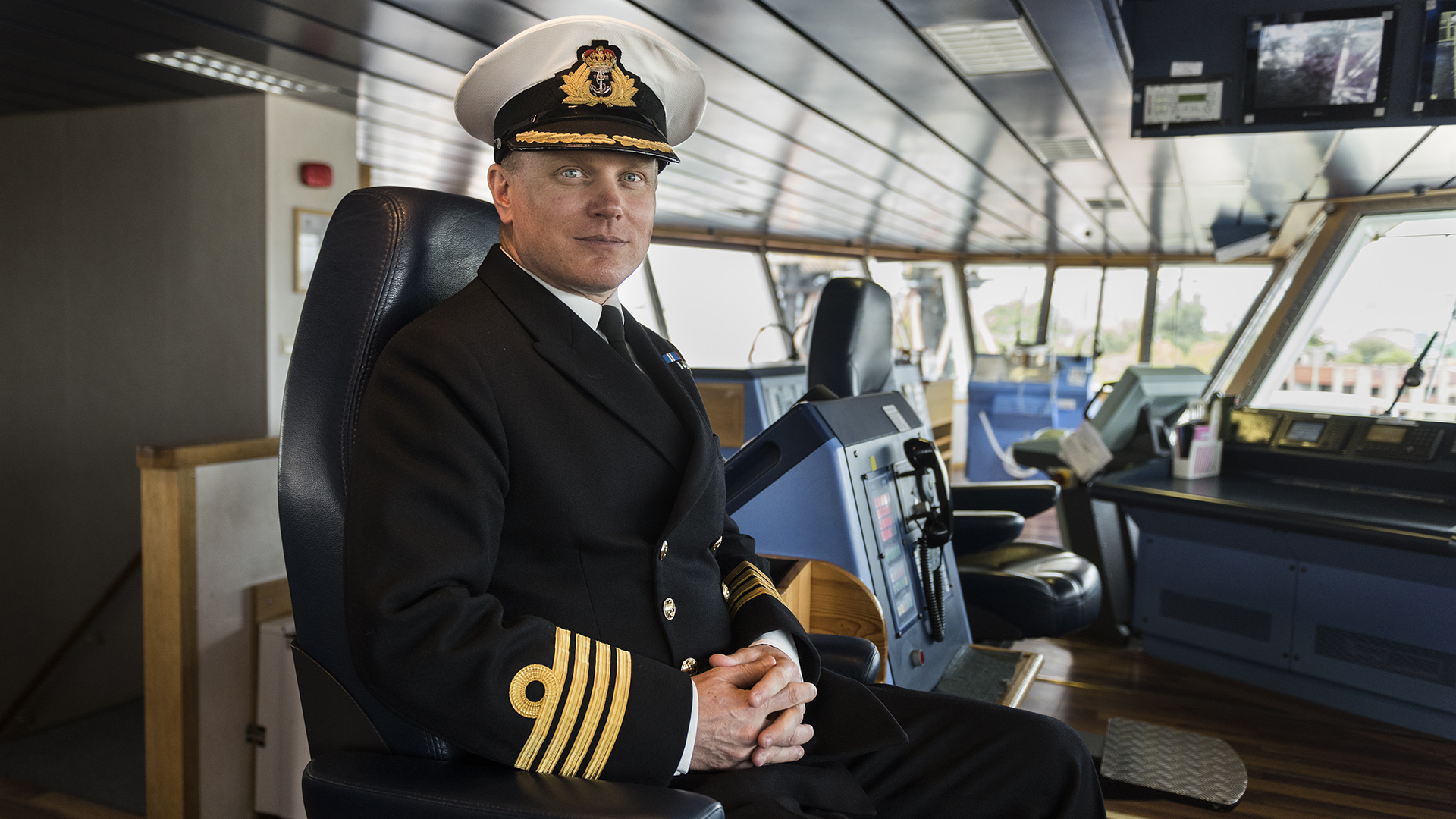 El capitán del barco,Matt Syrett