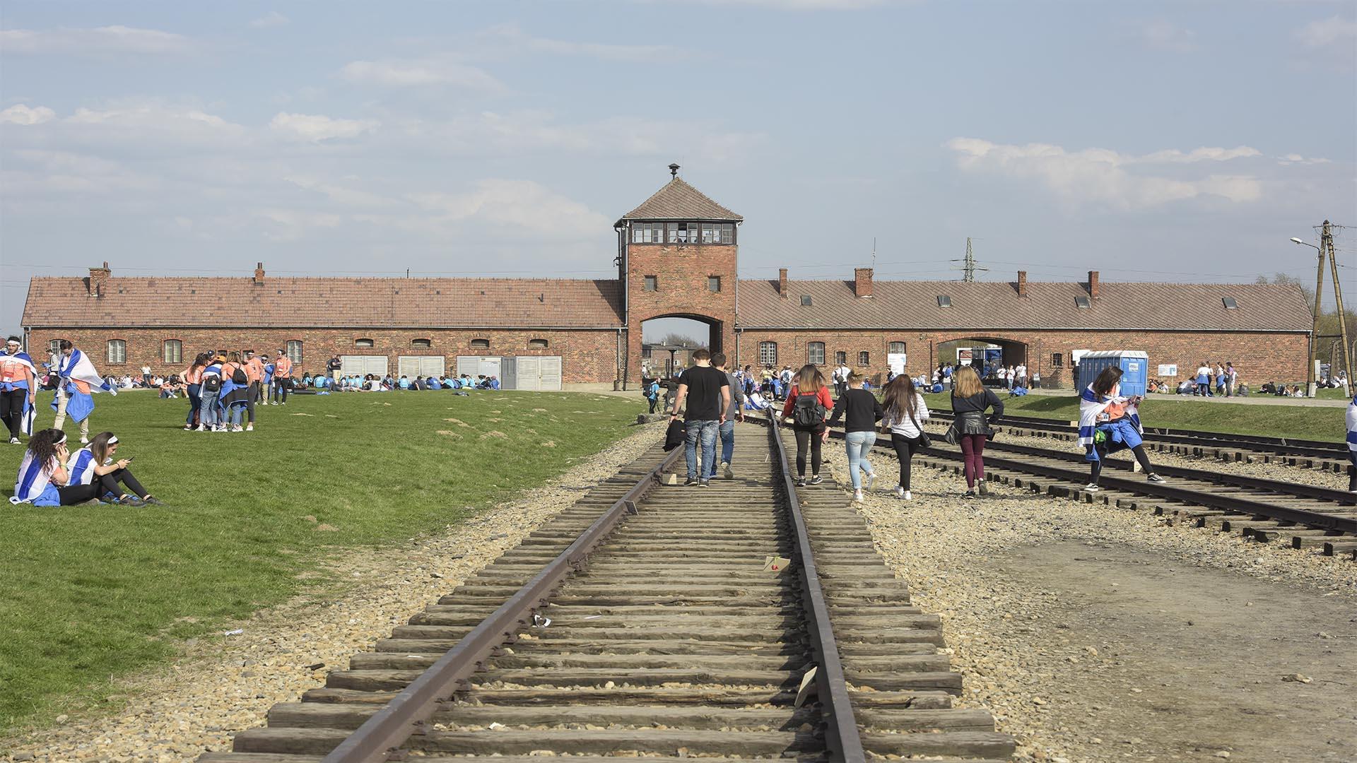 En Auschwitz fueron asesinadas un millón y medio de personas