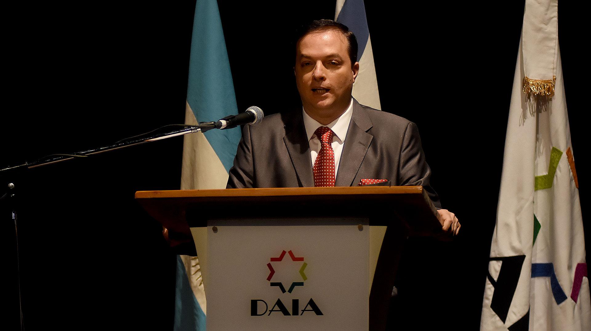 El discurso del presidente de la DAIA, Ariel Cohen Sabban, durante el acto por el Día del Holocausto y del Heroísmo, en conmemoración del 75° Aniversario del Levantamiento del Gueto de Varsovia