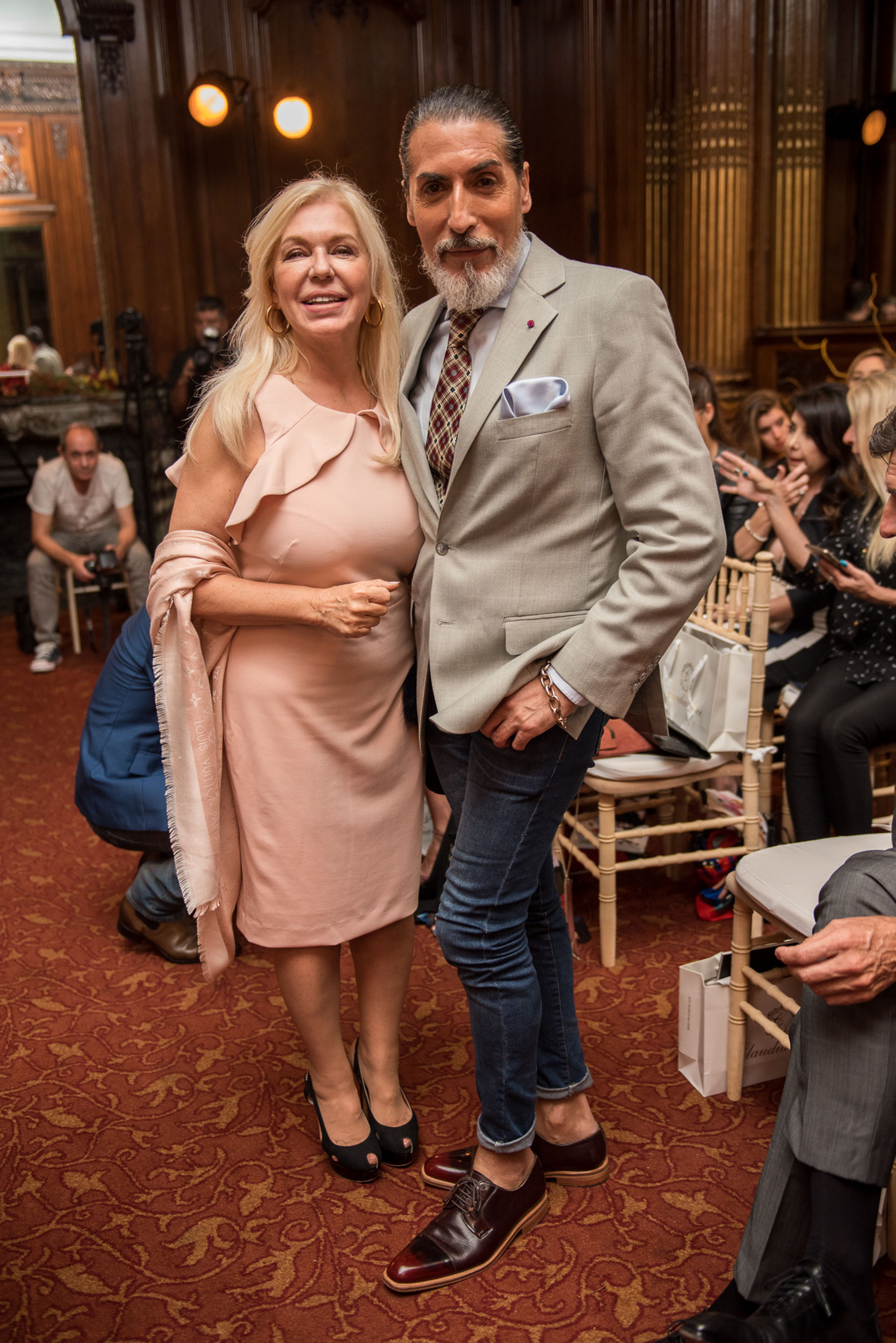 Diana Chugri y Cesar Juricich