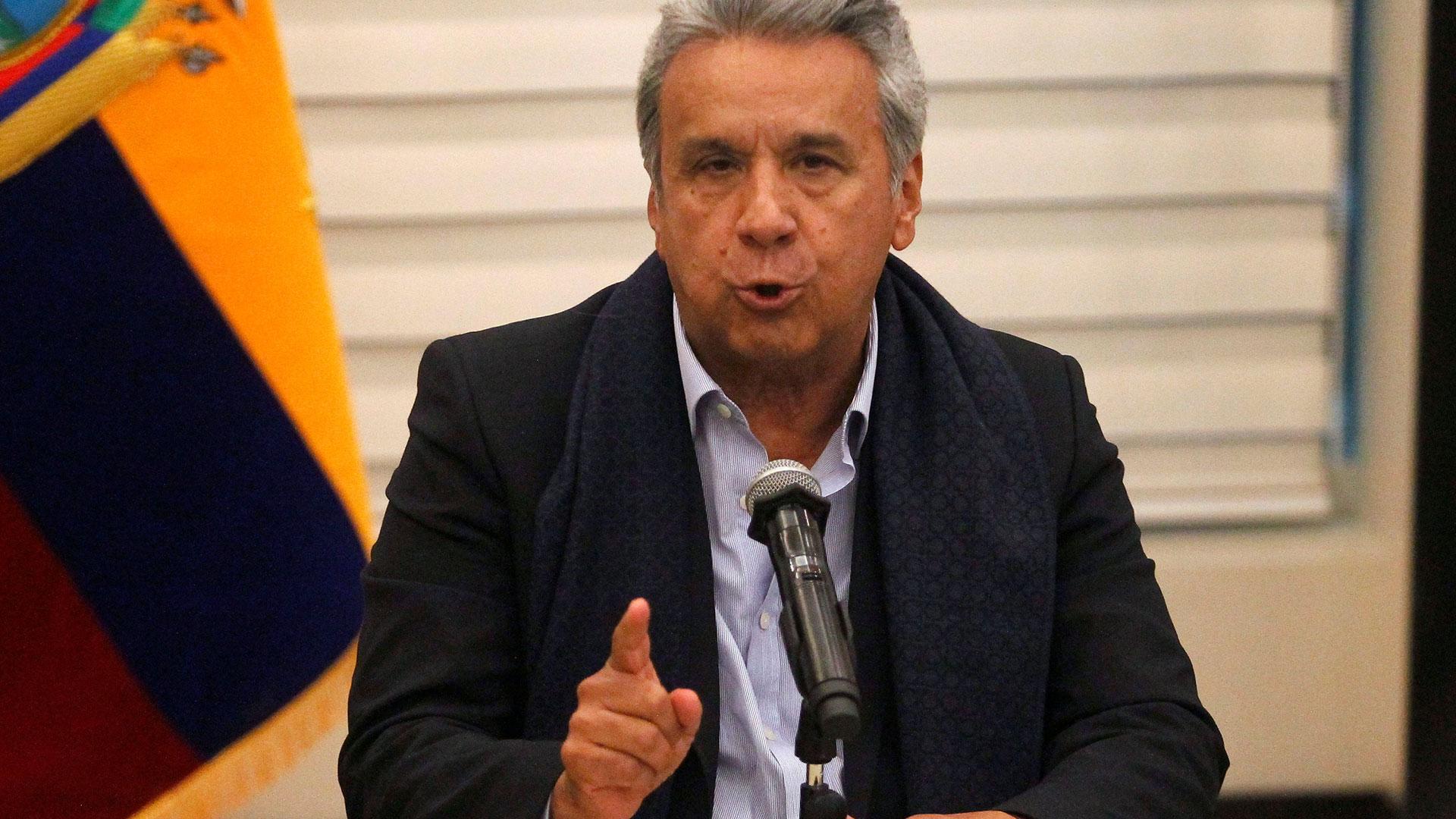 El presidente de Ecuador Lenín Moreno (Reuters)
