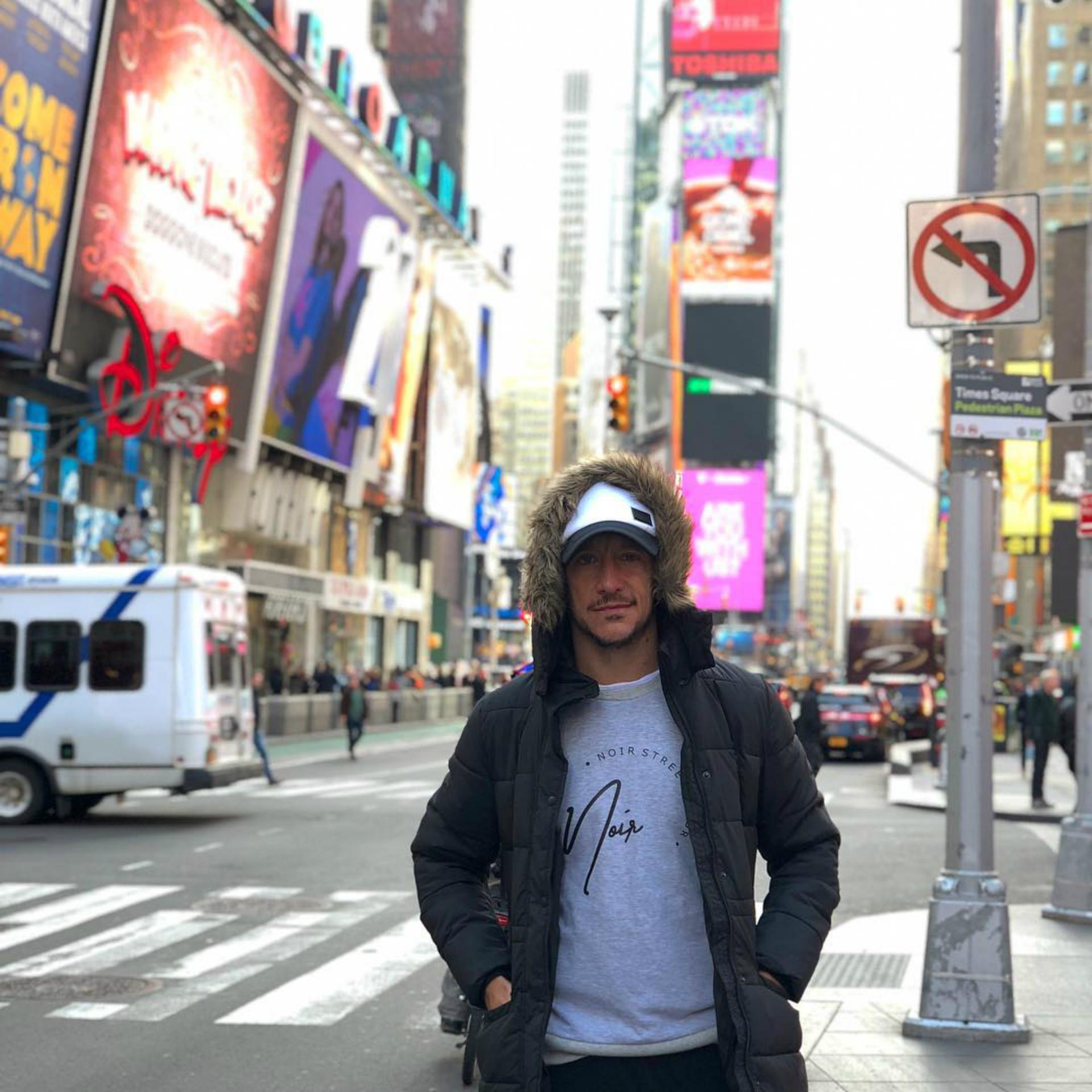 Times Square, un infaltable de Nueva York. (Foto Instagram)