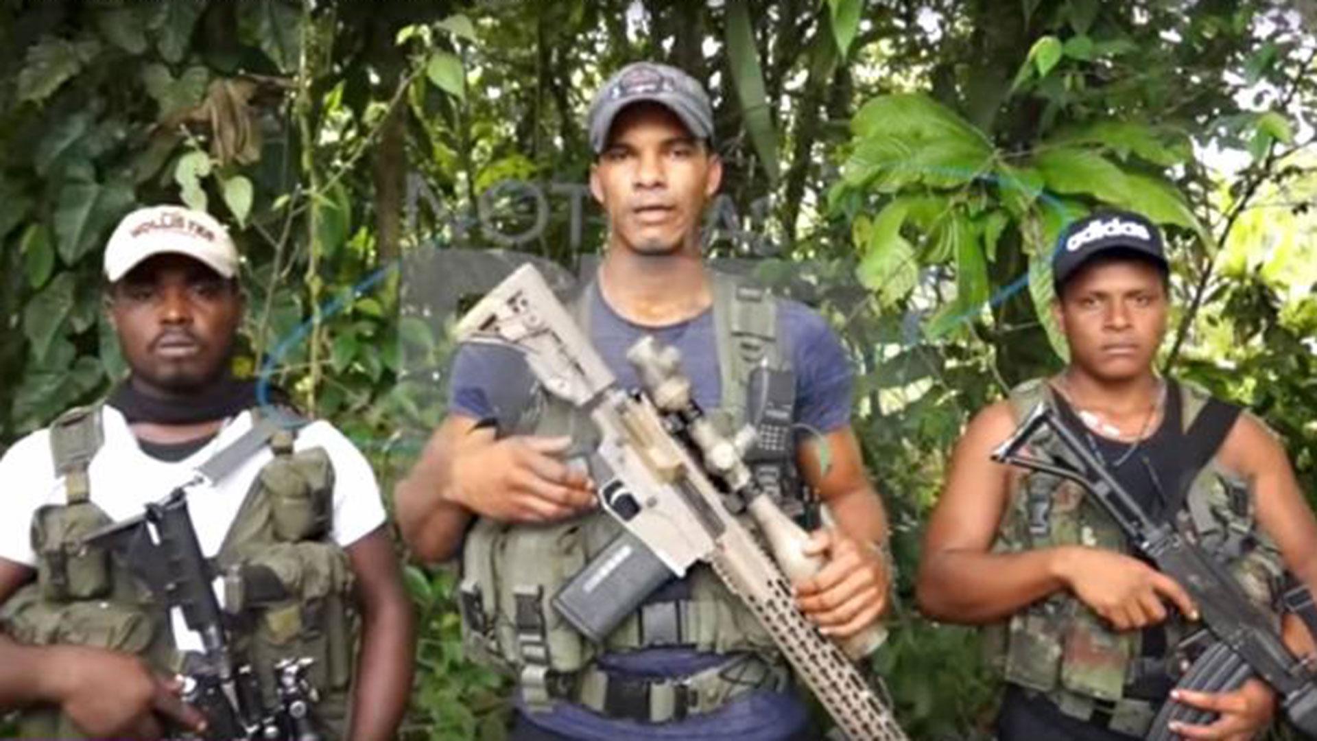 """""""Guacho"""" y disidentes de las FARC"""