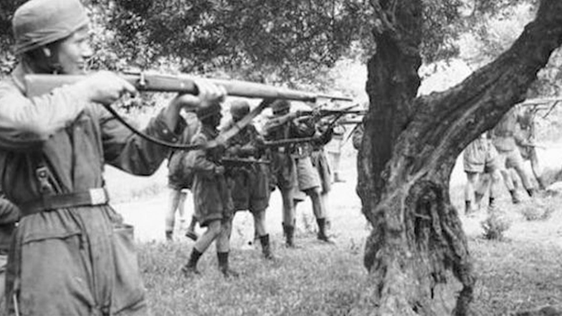 Los nazis fusilaron 10 mil personas de la pequeña ciudad polaca (Foto: Archivo Walter Von Reichenau)