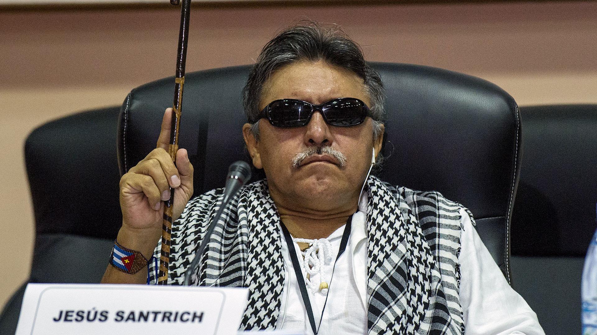 Jesús Santrich fue capturado luego de que un agente de la DEA se infiltrara en una reunión que mantuvo el ex guerrillero con un cabecilla del mexicano Cartel de Sinaloa