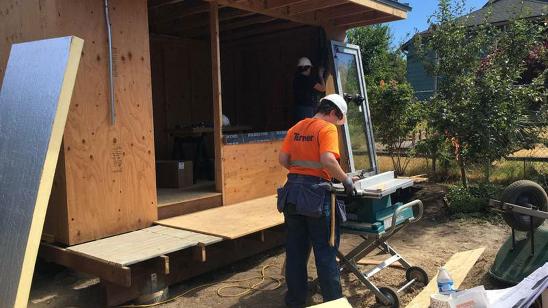 En Seattle, el proyecto Block creaunidades para homeless con trabajo voluntario de los vecinos