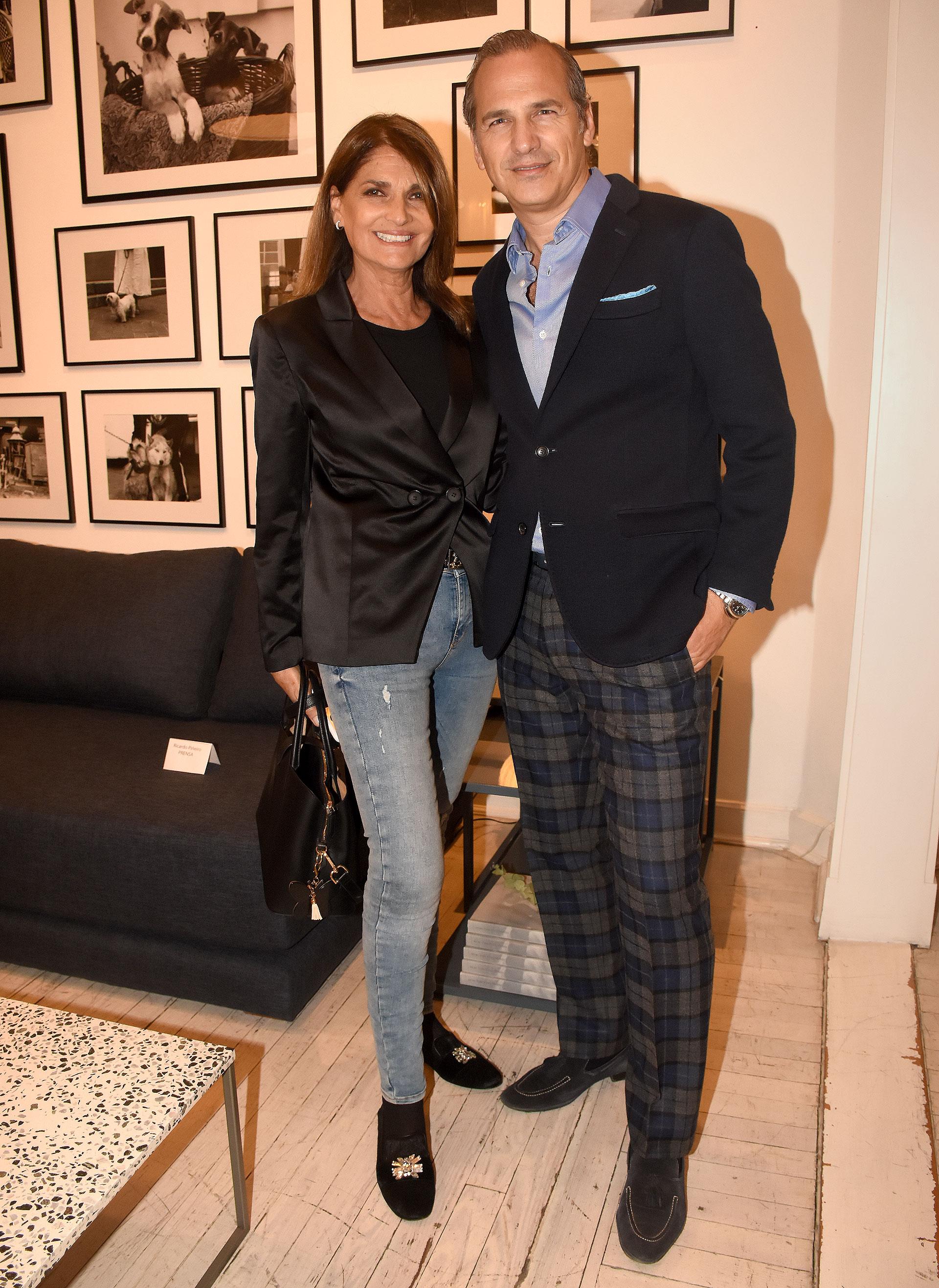 Teresa Calandra y Javier Iturrioz