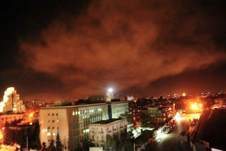 Bombardeos sobre Siria.