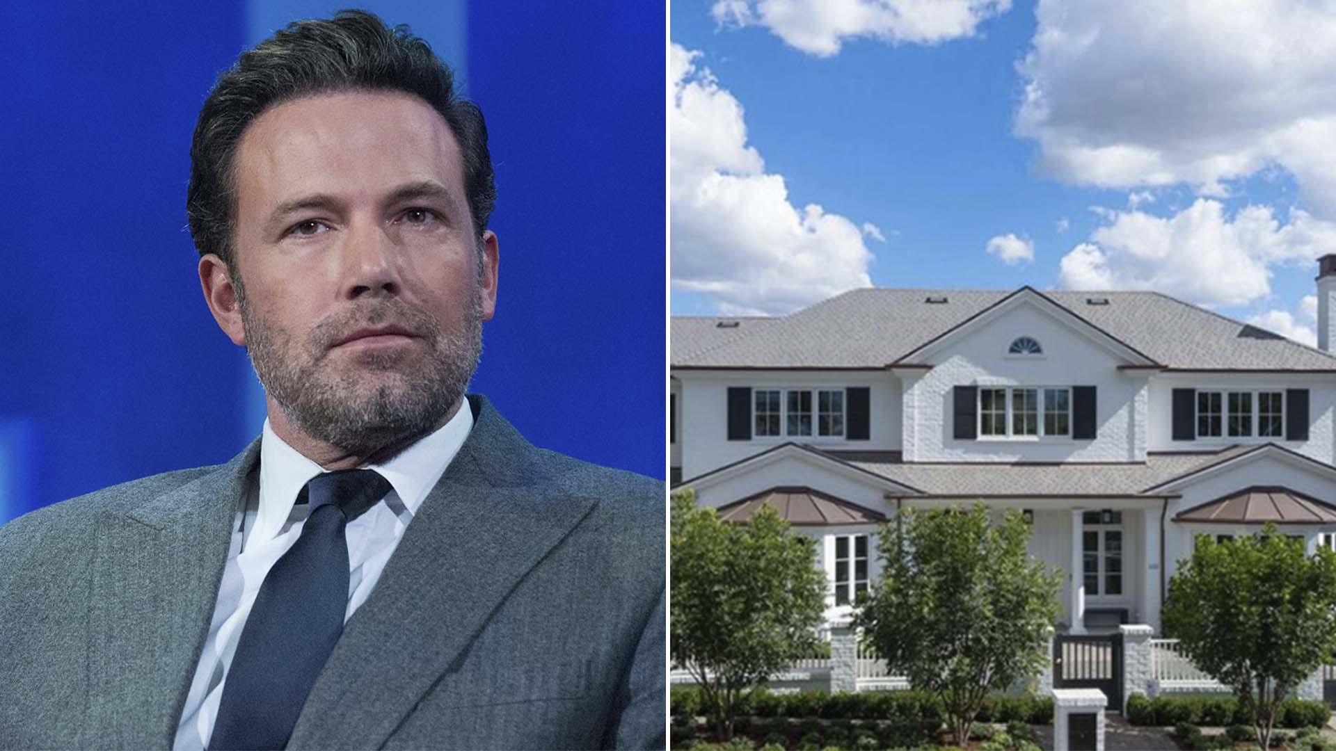 Ben Affleck compró mansión para estar cerca de sus hijos