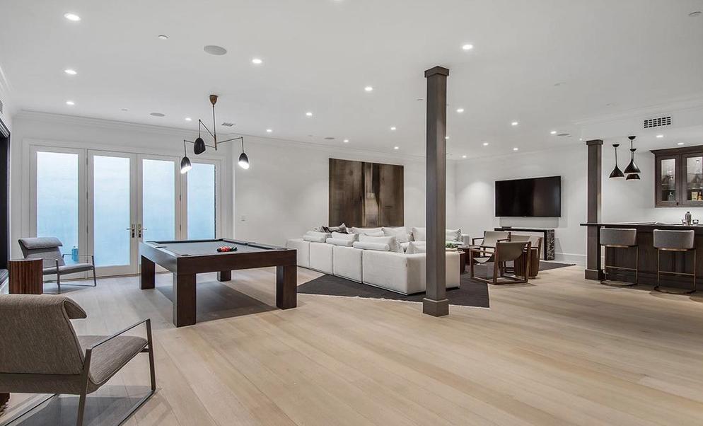 La mansión de Ben Affleck cuenta con sala de juegos, sala de star yun bar