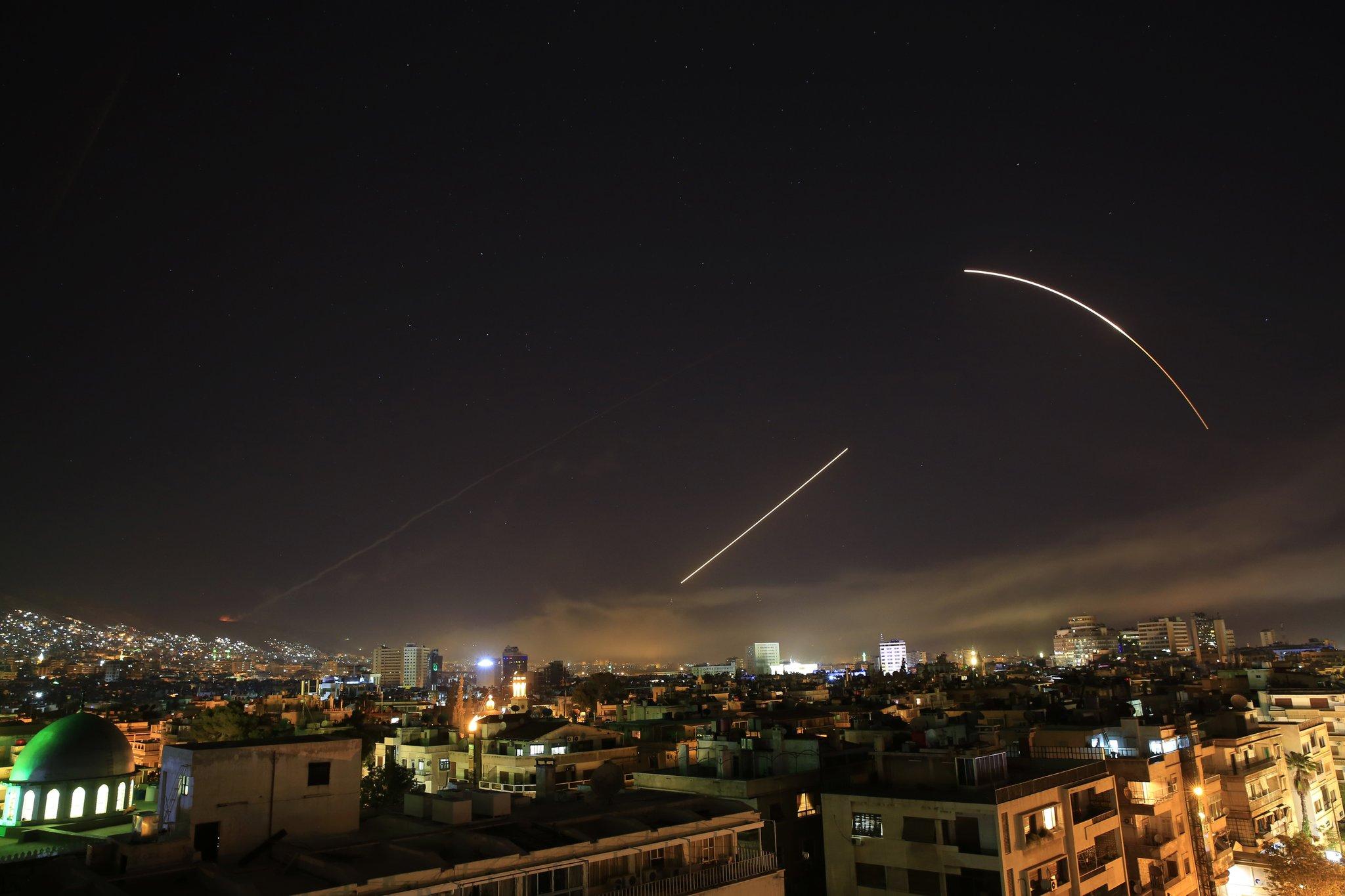 EEUU, Reino Unido, y Francia bombardearon Siria