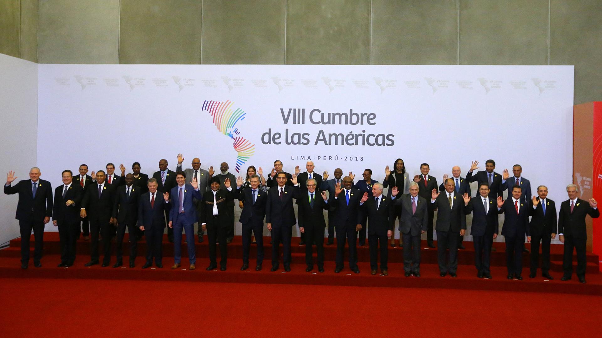 Este sábado se llevó a cabo la VIII Cumbre de las Américas, en Lima, Perú (REUTERS)